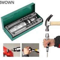 iwown 13 pcs impact driver screwdriver set bit screw driver bits heavy duty shock loosening frozen bolts and stubborn fasteners