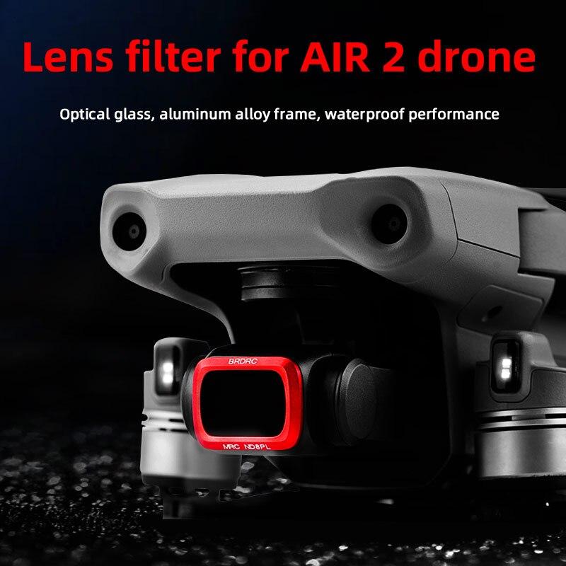 for DJI Mavic Air 2 Adjustable Gimbal Lens Filter Drone ND8-PL ND16-PL ND32-PL ND64-PL For Mavic Air 2 Lens Accessories