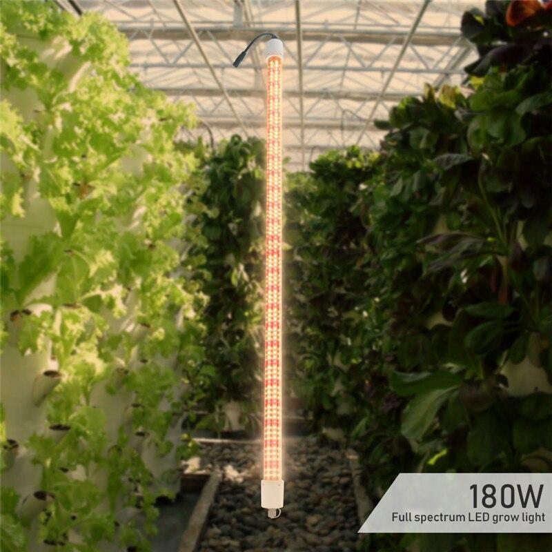 LVJING 180W Plants Grow Led Light Tube Full Spectrum Red Warm White Phytolamp Bar for Indoor Tent Greenhouse Plant Vegs Flowers enlarge
