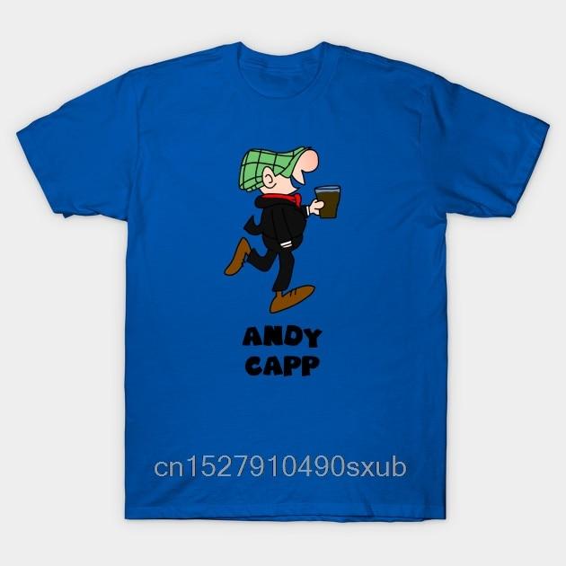 Camiseta veraniega para hombre, camiseta gráfica creativa a la moda con dibujos vintage de andy capp