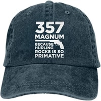 unisex funny gun owner vintage washed twill baseball caps adjustable hat funny humor irony graphics of adult gift navy
