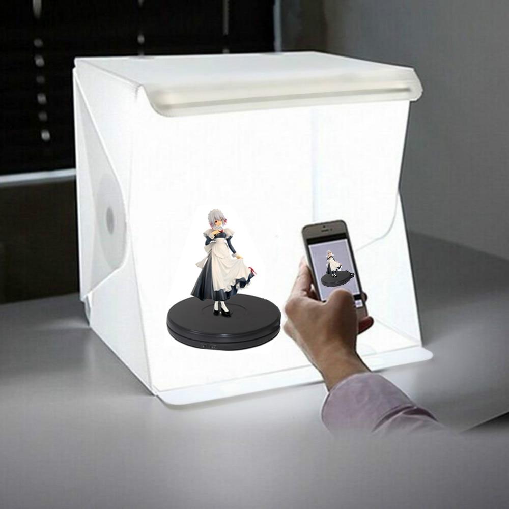 LED للطي صور خلفية صندوق إضاءة سوفت بوكس مع التصوير مصباح للصور استوديو ل خلفيات للتصوير الفوتوغرافي ل يوتيوب