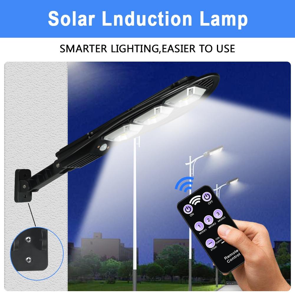 Energia Solar Street Light Led Solar Lamp Waterproof 60/90 COB PIR Motion Sensor Wall Light Garden Outdoor Lighting Decorative