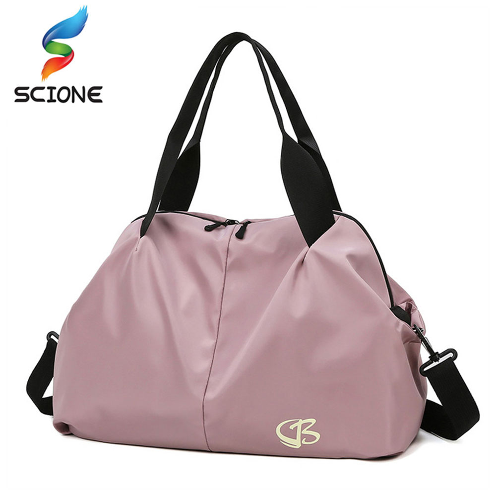 Women Large Capacity Gym Bag Waterproof Swimming Yoga Sports Bags Multifunction Hand Travel Duffle Weekend Package  XA190Y