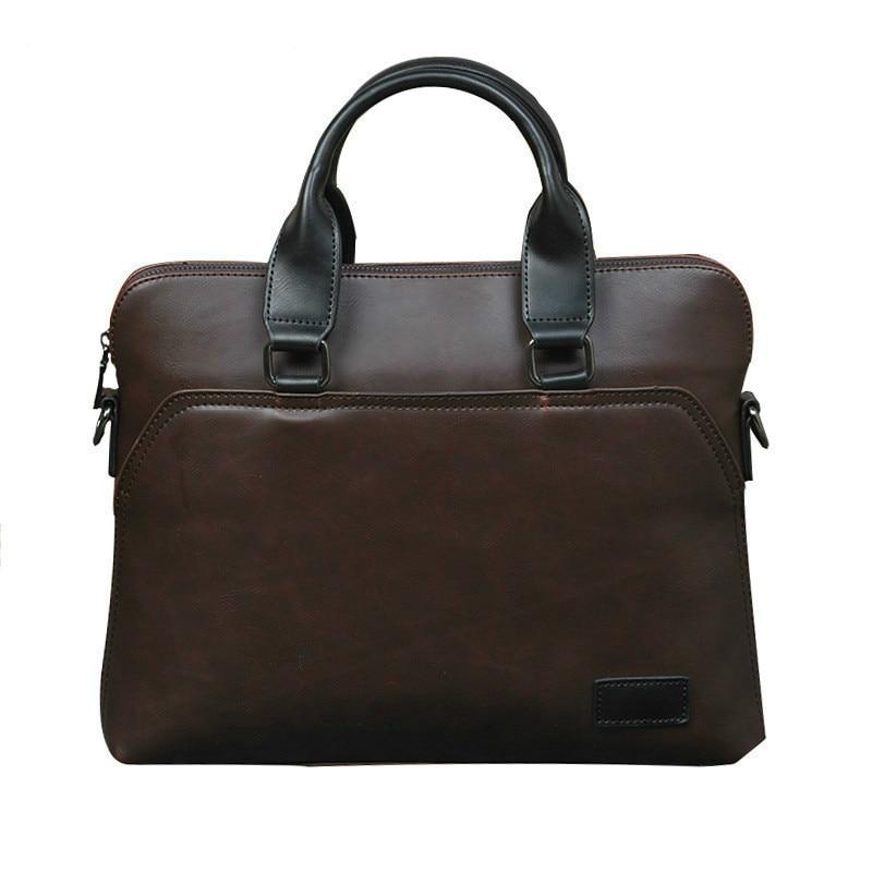 Men Leather Briefcase Woman Laptop Mens Bag Office Bags For Man Messenger Briefcase Bolso Hombre Computer Bag Handbags Sac Homme