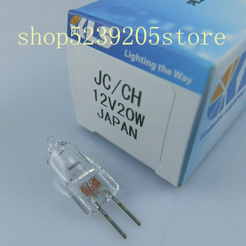 Lâmpada bioquímica da fonte de luz do analisador do bulbo kls jc 12v 20w do tungstênio do halogênio de kls jc/ch 12v20w g4