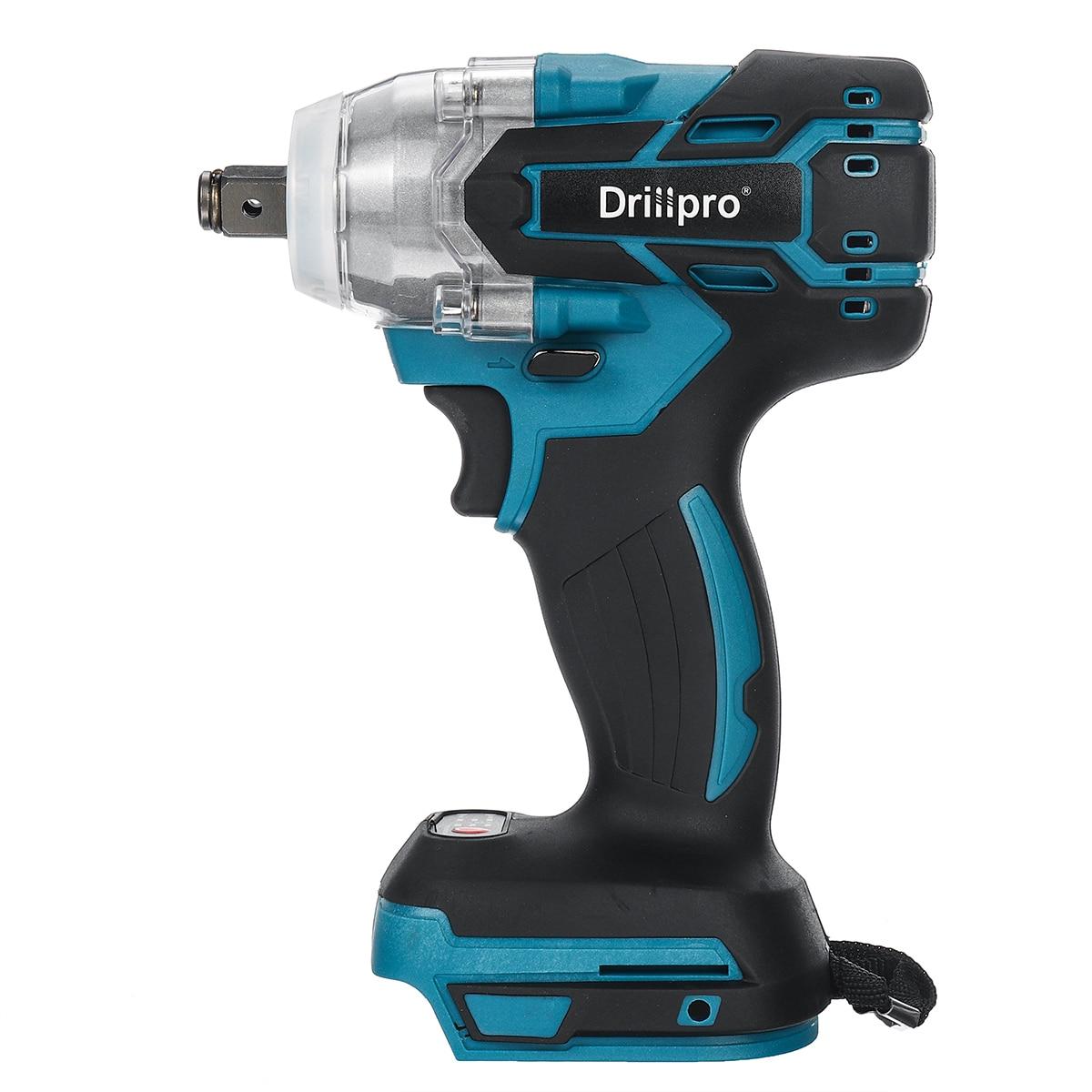 Harjadeta juhtmeta elektriline löökvõtmega laetav 1/2 tolline - Elektrilised tööriistad - Foto 3