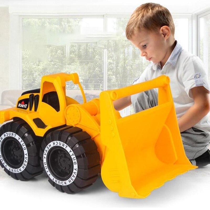 1 Набор Обучающие игрушки для мальчиков Машинки Детские экскаваторы игрушки осенние инженерные автомобили скользящие детские автомобили р...