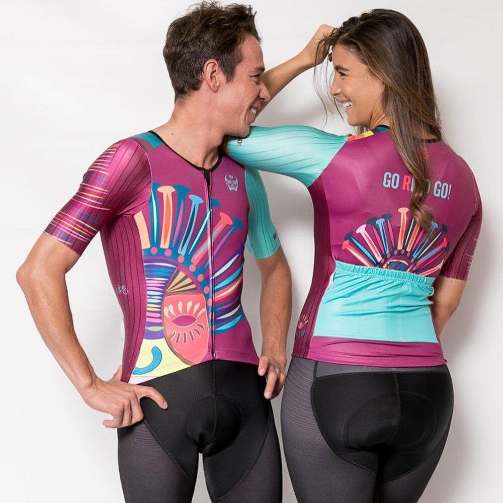 Conjunto de ropa de ciclismo para hombre y mujer, maillot de ciclismo...