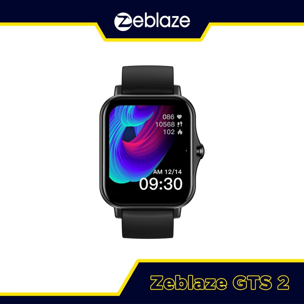 New 2021 Zeblaze GTS 2 Smart Watch Music Player Receive/Make Call Heart Rate Long Battery Life Smart