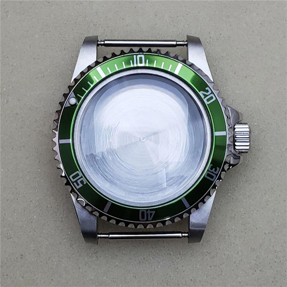 39.5 مللي متر مشاهدة الحال بالنسبة ميوتا 8215 ، 8200 ، 821A حاوية من الفولاذ المقاوم للصدأ ساعة شل للحركات الميكانيكية Mingzhu 2813