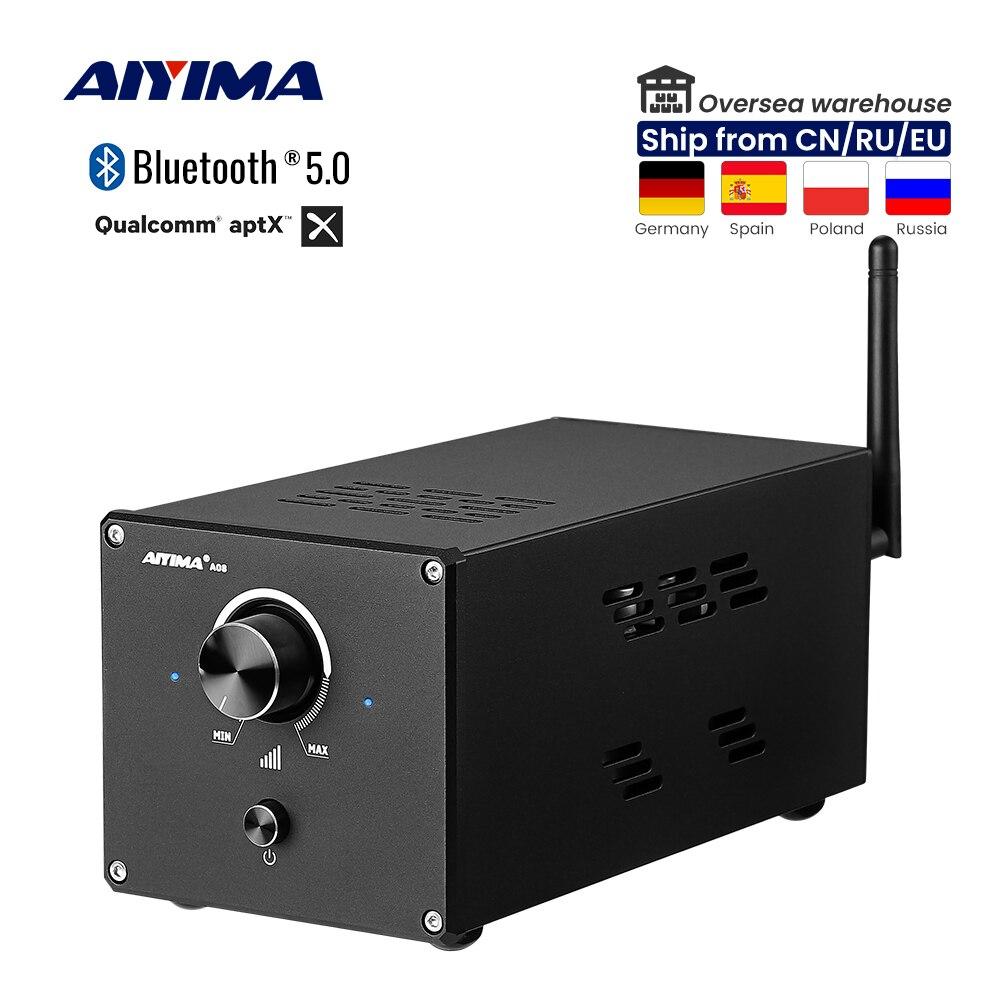 AIYIMA TPA3255 بلوتوث 5.0 مكبر كهربائي رقمي 315Wx 2 مكبر صوت مكبر صوت فئة D مضخم صوت PCM5102 فك التشفير