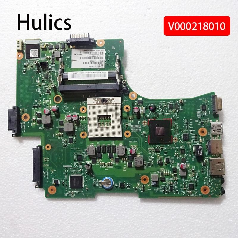 Hulics Motherboard Laptop Original Para Toshiba Satellite L650 L655 1310A2332401 V000218010 HM55 PLACA PRINCIPAL DDR3
