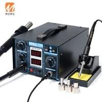 706 2in1 blower professional hot air heat gun soldering iron rework station