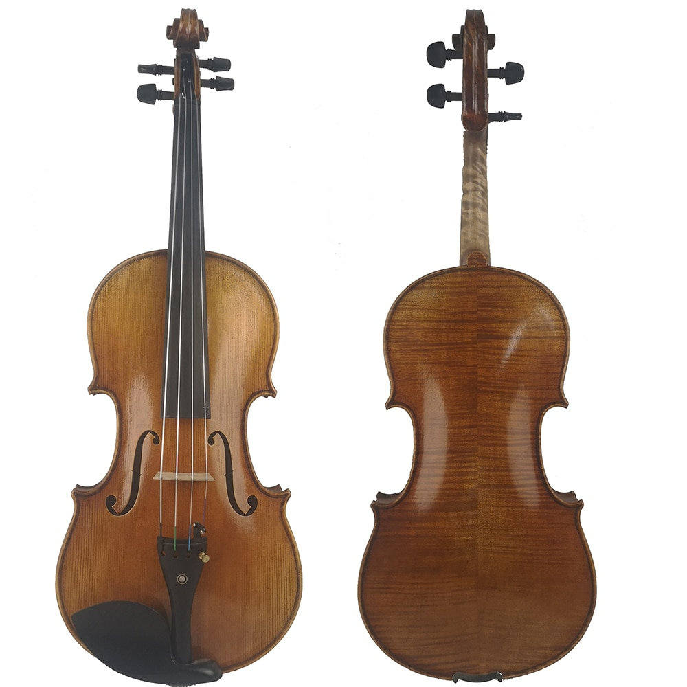 Free Shipping Viola  FPVN01 Copy Antonio Stradivari Cremonese 1716 Model with Canvas Case and Brazil Bow enlarge