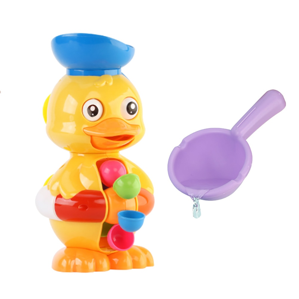 Yellow Duck Series Bath Toy Baby Shower Bath Toys Play Water Toys Cute Cartoon Bathroom Toy For Kids Gift baby bath toys duck clockwork educational toys swim bathing kids water swimming chain shower toy gift for newborn baby wholesale