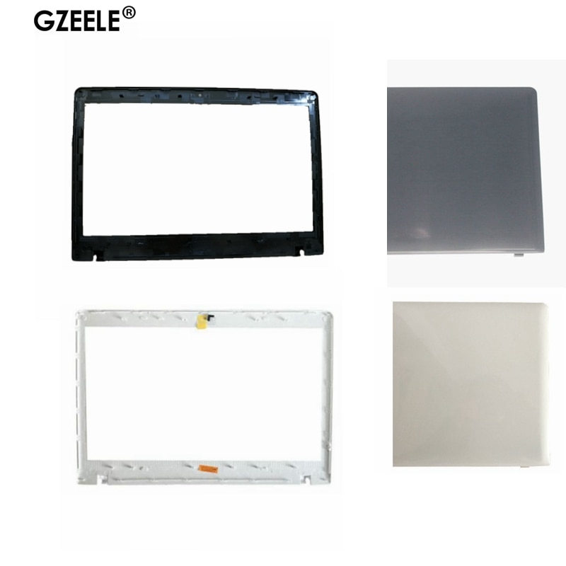 GZEELE neue Laptop Shell für Samsung NP300E4E NP270E4V NP275E4V NP270E4E Laptop LCD Lünette Front Rahmen Abdeckung fall weiß