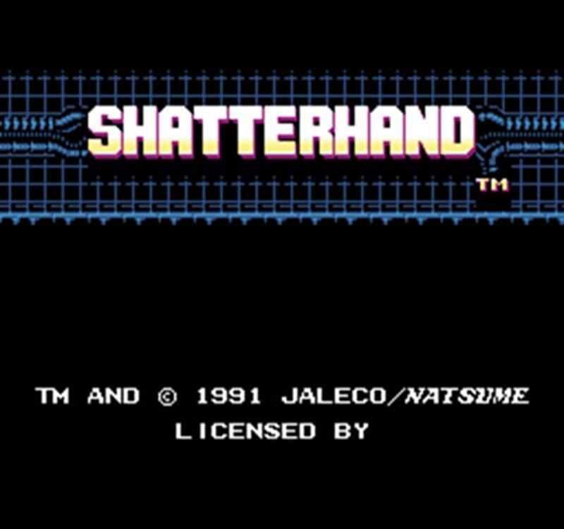 Shatterhand 60 pinos versão inglês cartucho de jogo para 8 bits 60pin game console
