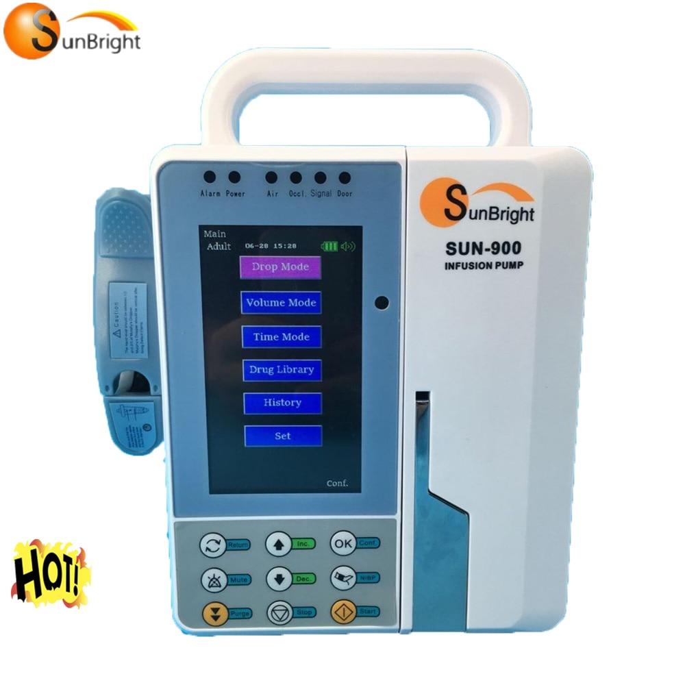 رائجة البيع CE ISO المعتمدة المحمولة التلقائية مِضَخَّةُ التَّسْريب في مستشفى وحدة العناية المركزة معدات طبية
