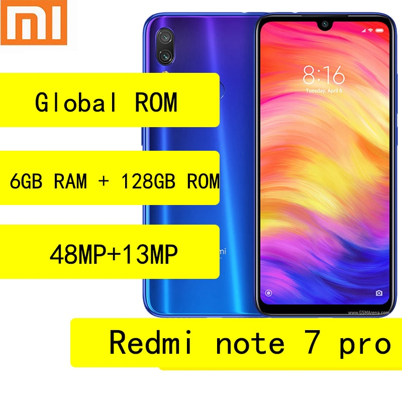 Xiaomi Redmi note 7 pro smartphone global firmware Snapdragon 675 Quick Charge 4