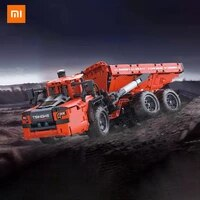 xiaomi onebot articulated mining truck 112 simulation heavy truck articulated structure imitating hydraulic lifting bucket