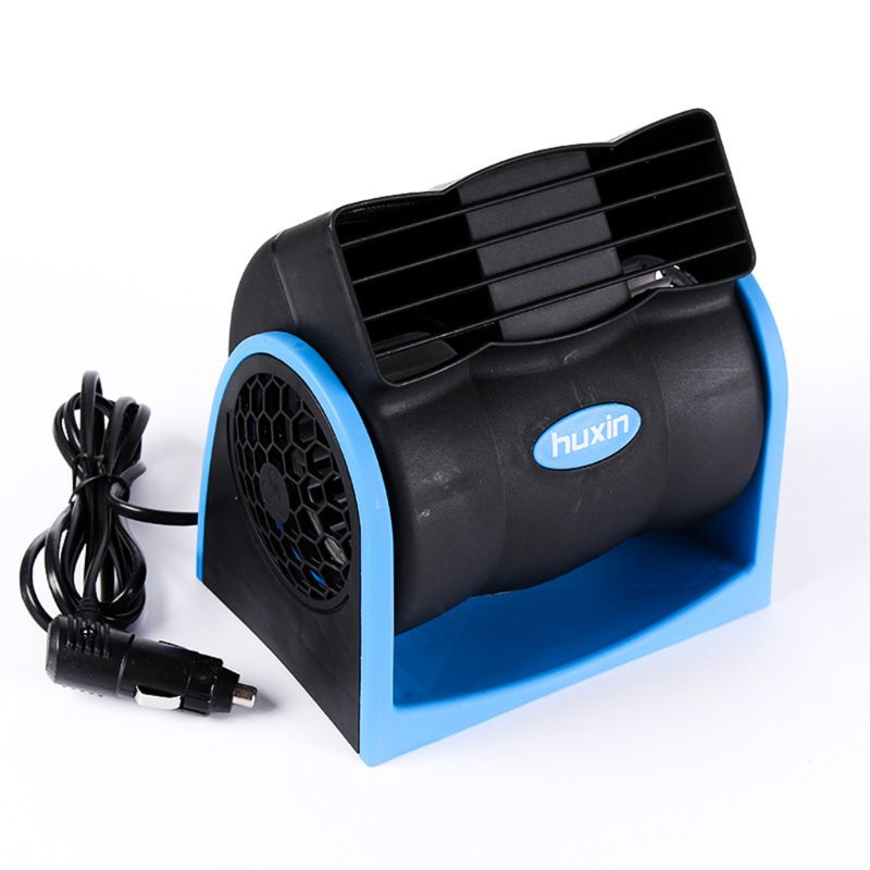 Ventilador sin aspas de aire de enfriamiento para vehículos de 12V, sistema de refrigeración silencioso ajustable 27RB
