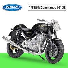 118 WELLY Motorrad Norton Commando 961 SE Metall Diecast Legierung Modell Spielzeug Geschenk