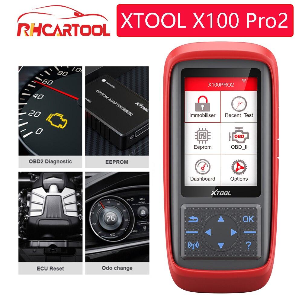 Herramienta de diagnóstico para coche Xtool X100 PRO X100 Pro2, clave automática, programador ECU OBD2, odómetro, corrección de kilometraje X100 Pro 2 OBD 2 OBD2