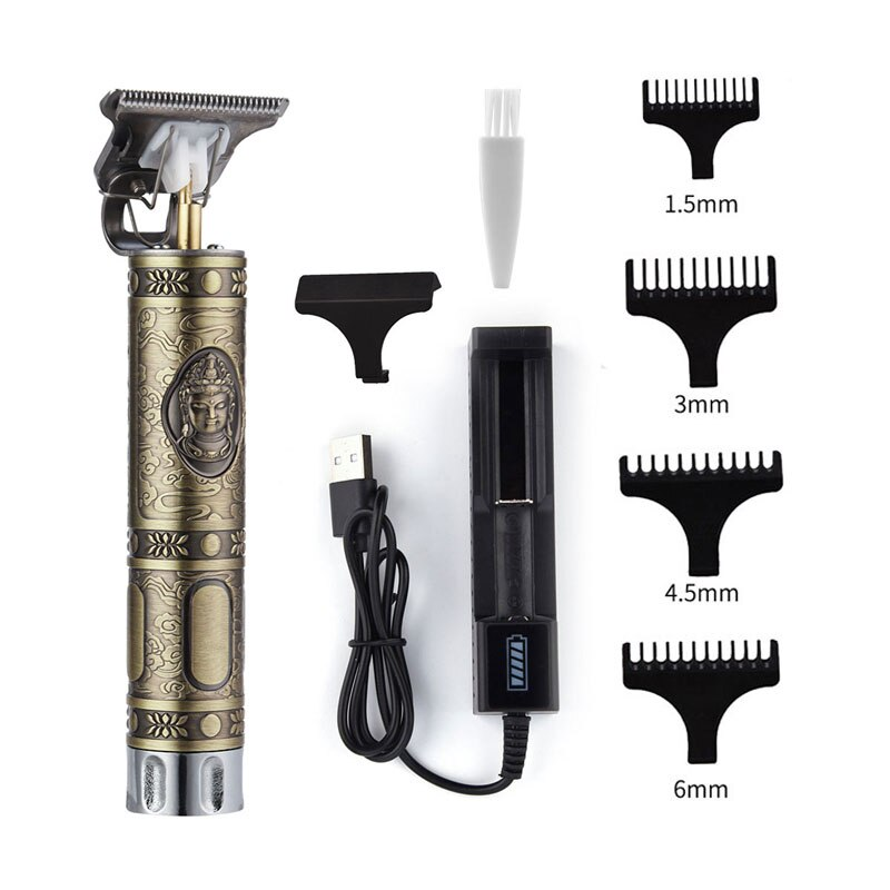 Electric Hair Clipper Rechargeable Shaver Beard Trimmer Professional Men Hair Cutting Machine Beard Barber Hair Cut enlarge