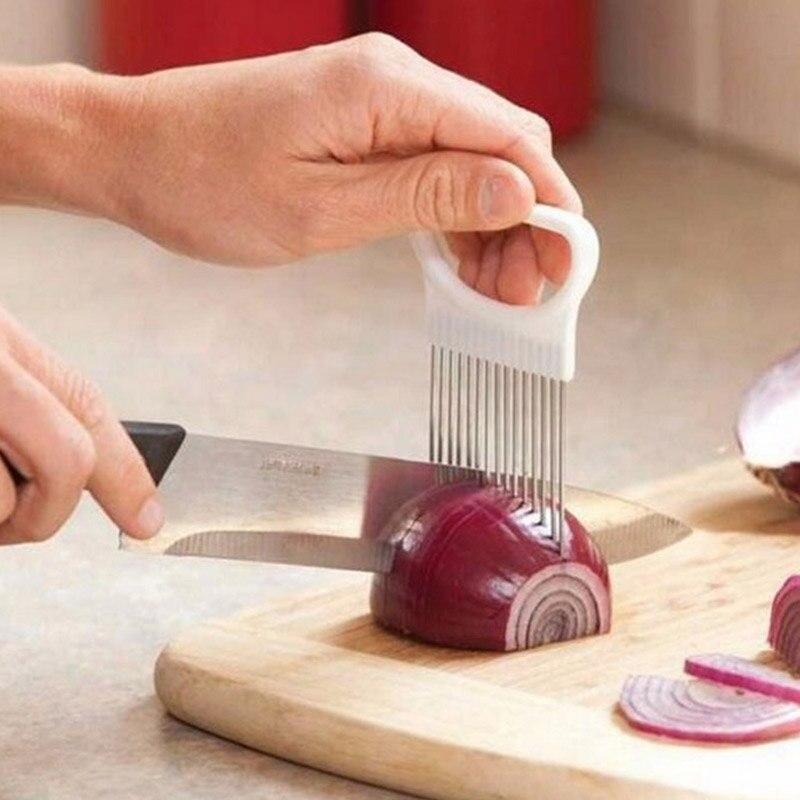 Tenderizador de carne de acero inoxidable agujas para cebolla utensilios de cocina de pino herramientas de cocina tenderizador de carne prensa de hamburguesas