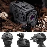 mountable night vision 200m range hunting rifle helmet cameras ultralight 0 17kg outdoor sport game surveillance observation
