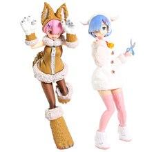 Re Zero сказка Волк и 7 овец Ver персонаж Ram Rem ПВХ фигурка Коллекционная модель игрушки