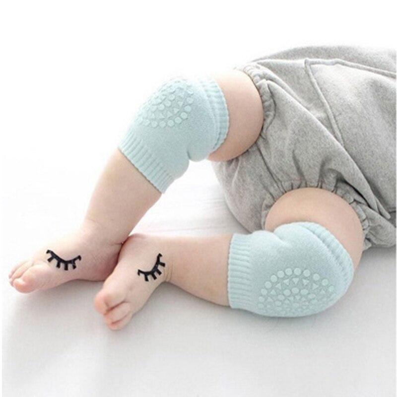 1 Pair Kid Knee Pads Leg Warmers Protector Anti Slip Crawling Accessory Baby Knees Warmer Baby Crawling Protector freeshipping