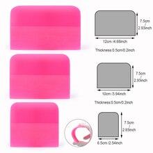 FOSHIO 3 шт. мягкие PPF Скребок винил Обёрточная бумага ping пленка из углеродного волокна Стикеры инструмент для вставки ткань для автомобиля Обёрточная бумага оконная тонировка инструмент для очистки