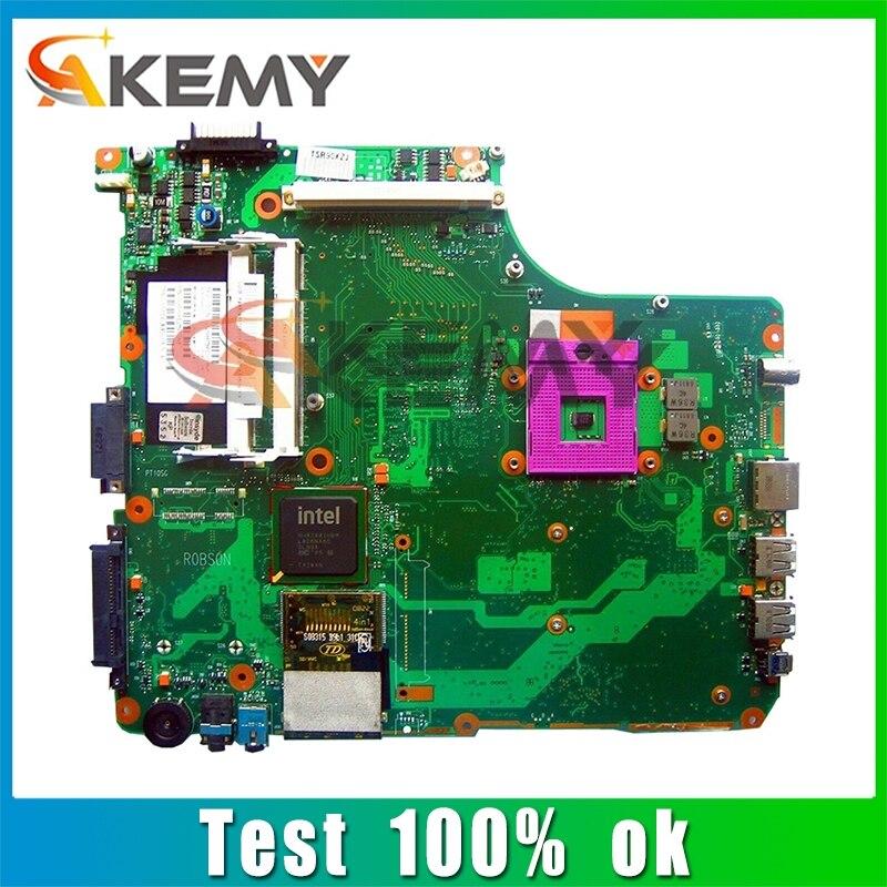 SPS V000127130 PN 1310A2171553 لأجهزة الكمبيوتر المحمول توشيبا الأقمار الصناعية A300 A350 اللوحة الأم DDR2 6050A2171501-MB-A03 PM45 الضمان 60 يوما