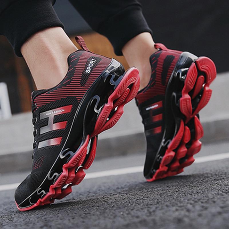 أحذية رياضية عصرية للرجال أحذية رياضية للركض خفيفة الوزن بنصل عريض وراحة للجنسين أحذية جديدة