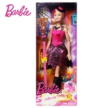 Mattel Genuine Barbie Halloween Barbie DMN88 Girls Holiday Gift Toy Gift Box Set
