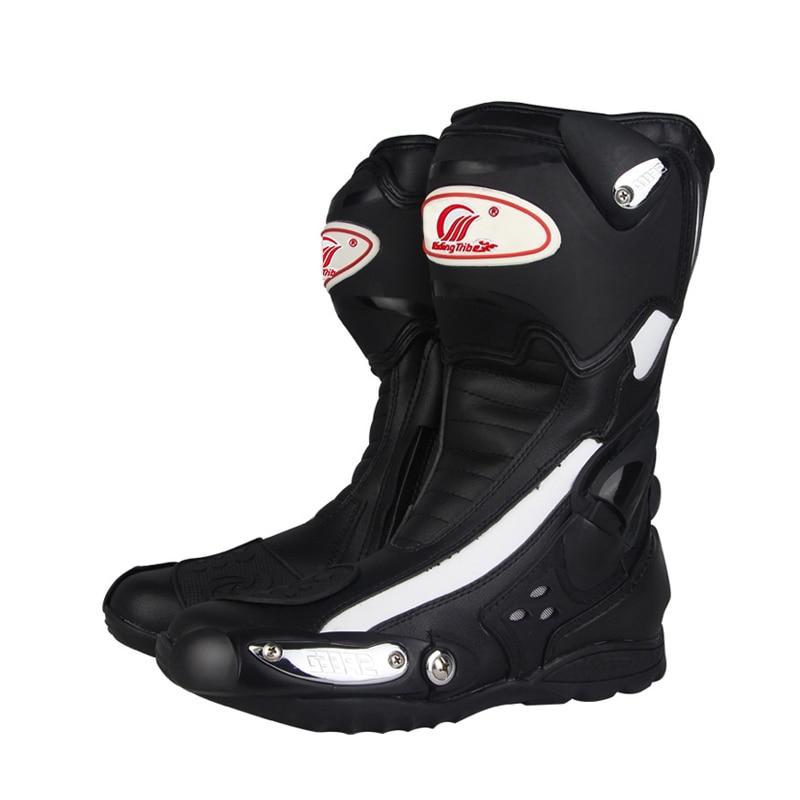 Botas protectoras para Motocross, Botas para montar en Moto, Botas para Hombre y mujer, Botas Moto Hombre, equipo para Moto, cuatro estaciones