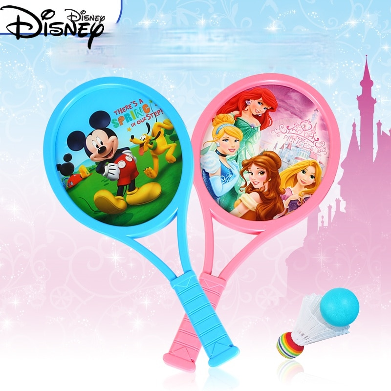 Disney Children's Beach Tennis Racket Kindergarten 3-12 Years Old Children's Badminton Toy Suit Racket Outdoor Sports Suit