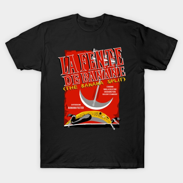 Camiseta De hombre La Fente De Banane (el plátano dividido) camiseta De mujer