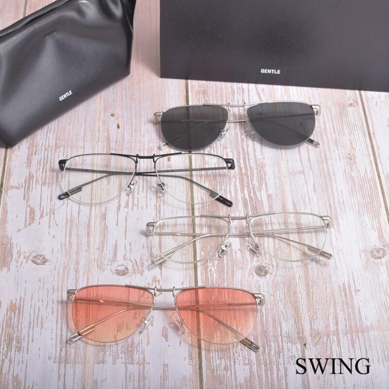 Новинка 2021, модные очки GM, оправа для очков по рецепту, оправа для очков с мягкой оправой, оправа для очков для мужчин и женщин, очки для чтени...
