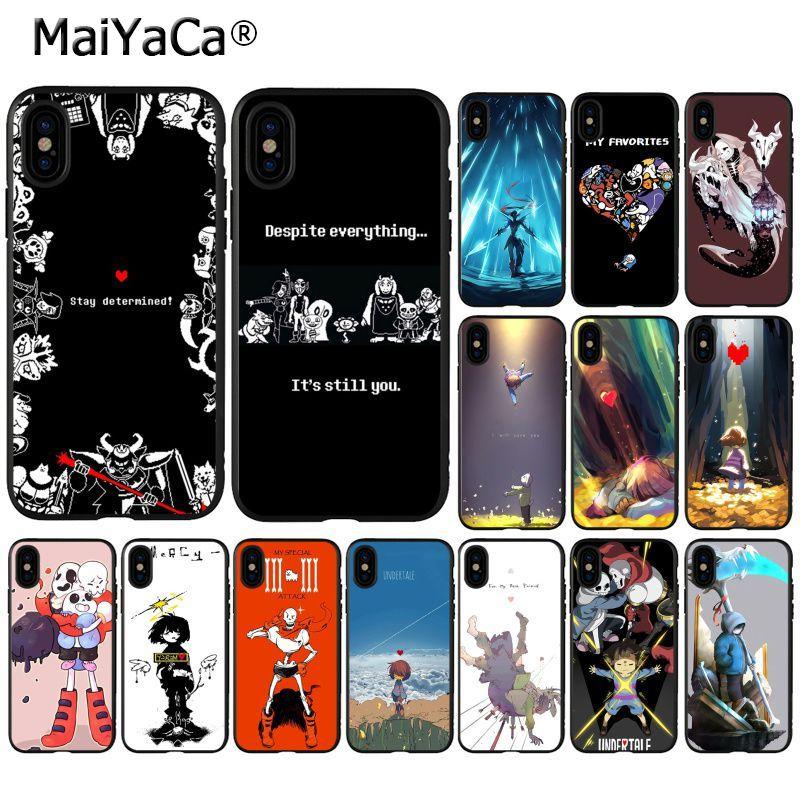 MaiYaCa undertale papiro sans doggo celular funda de teléfono de alta calidad para iPhone 11 pro XS MAX 8 7 6 6S Plus X 5 5S SE XR caso