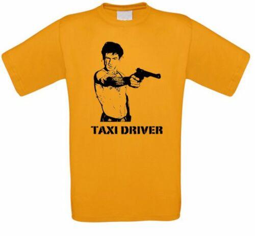 Conductor de Taxi de Niro corsese Jodie película de secta camiseta todos los tamaños nuevo