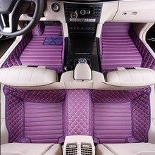 Custom Full Covered Special Car Floor Mats for Peugeot 5008 4008 3008 508 408 308 301 2008 307 207 Waterproof Durable Carpets