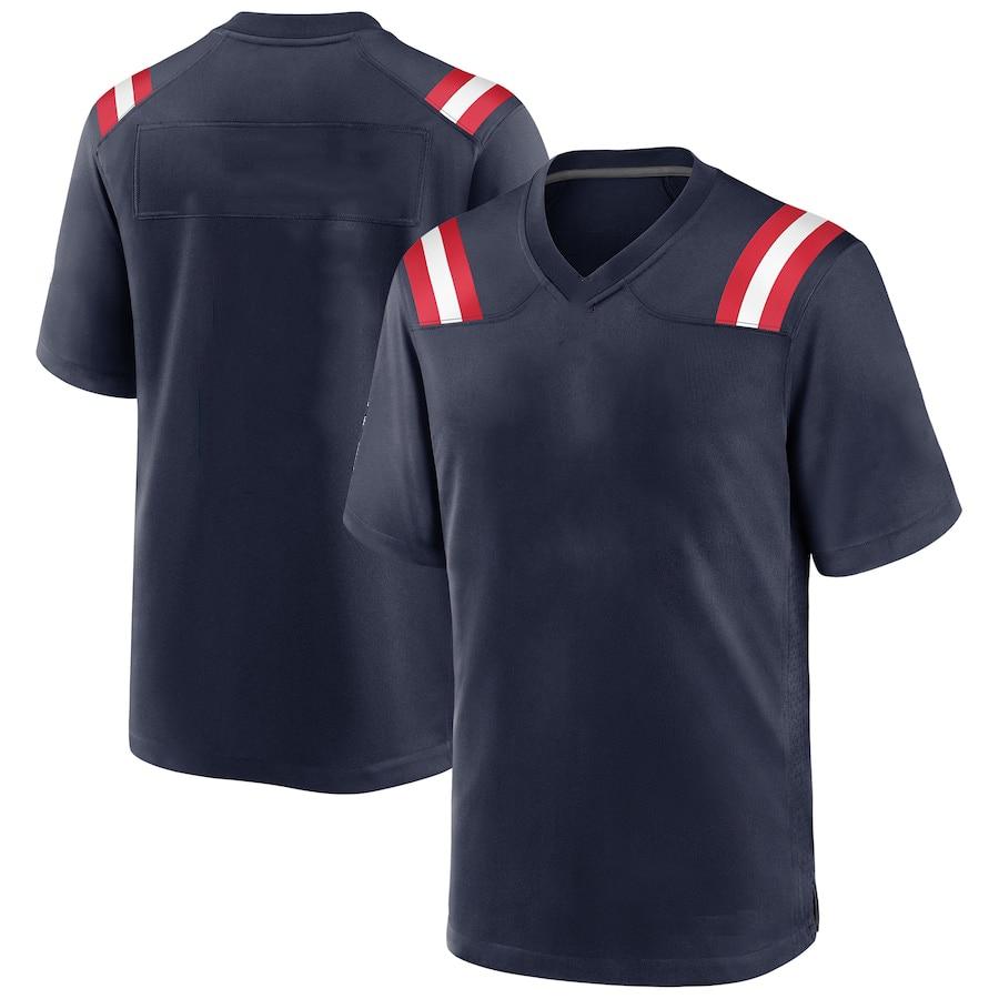 2020 de los hombres de Kyle Dugger 0 Nueva Inglaterra juego Jersey Tom Brady 12 Nueva Inglaterra Rob Gronkowski 87 fútbol americano Jersyes