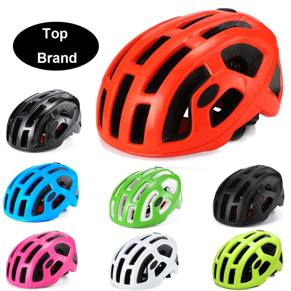 Ultraligero Casco de Bicicleta de carretera hombre mujer carrera ciclismo mtb casco racing day Time-Trial cascos de bicicleta capacete ciclismo