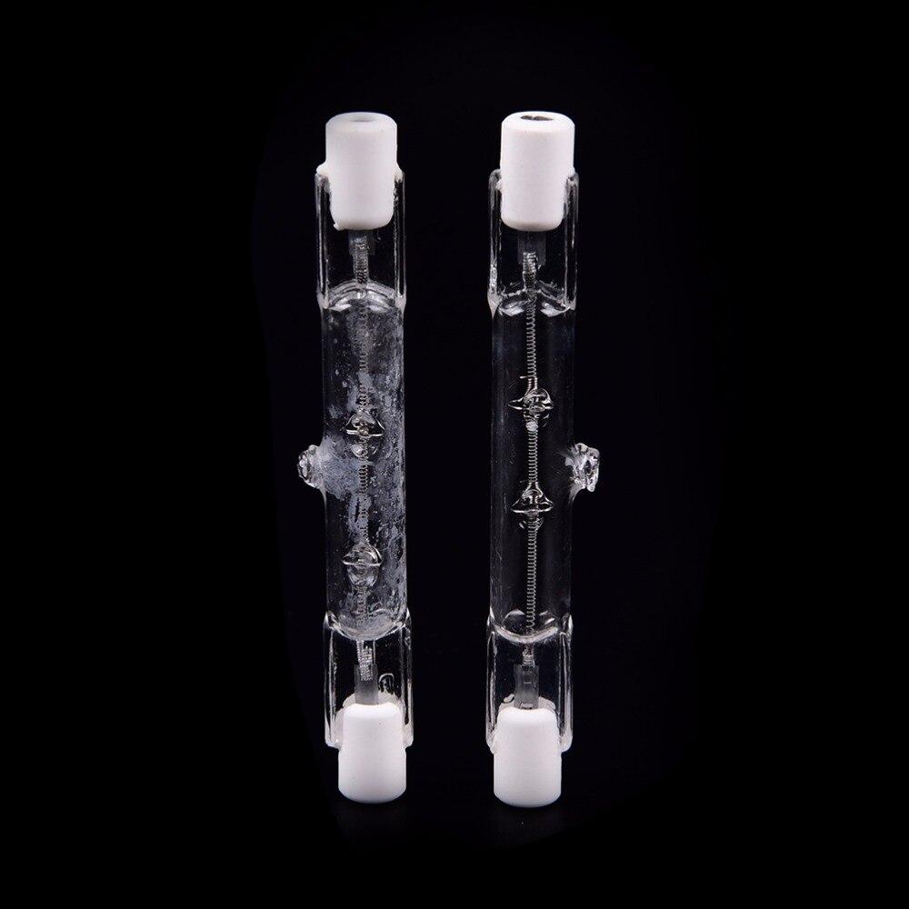 Теплый белый J78 R7s галогенная лампа 150W 500 Вт галогенная лампа 78 мм с двумя концами линейный R7s галогенные светильник лампочка переменного ток... недорого