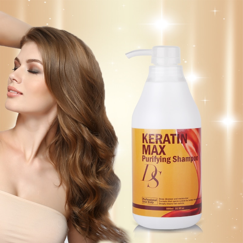 Купить с кэшбэком Purifying Shampoo High Grade 500ML DS Max Deep Care and Nourishing Hair Treatment before Straighten