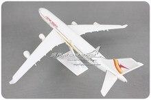 Suriname Airlines SURINAM Airbus A340 1 200 modèle davion assemblé en plastique 32cm