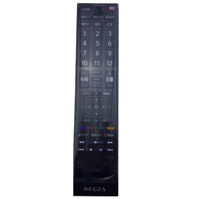 New Original For Toshiba REGZA LED LCD TV Remote control CT-90340 Japanese Fernbedienung